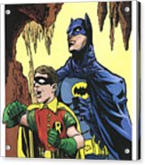 Back In The Batcave Acrylic Print