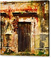 Back Lot By Darian Day Acrylic Print by Mexicolors Art Photography