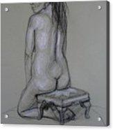 Back Nude 1 Acrylic Print