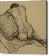 Back Nude 3 Acrylic Print