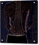Back Of Beads Acrylic Print