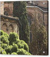 Back Of Church Of The Frari In Venice Acrylic Print