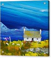 Back  Of Keppoch Cottage, Arisaig Acrylic Print