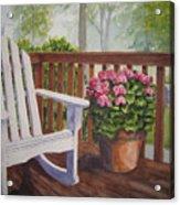 Back Porch Acrylic Print