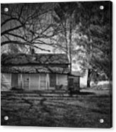 Back Road Farm House Acrylic Print