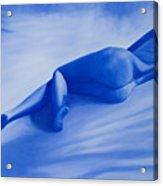 Back To Blue II Acrylic Print