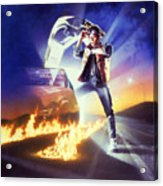 Back To The Future 1985 Acrylic Print