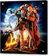 Back To The Future Part IIi 1990 Acrylic Print