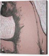 Back Torso Acrylic Print