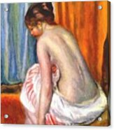 Back View Of A Bather 1893 Acrylic Print