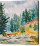 Afternoon in the Backcountry Acrylic Print
