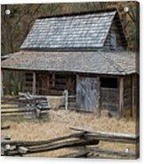 Backcountry Farm  Acrylic Print