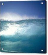 Backlit Wave Acrylic Print