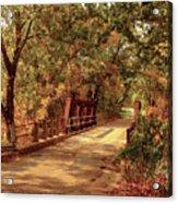 Backroads River Bridge Acrylic Print