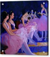 Backstage Acrylic Print by Kevin Lawrence Leveque