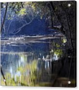 Backwater Gate Acrylic Print