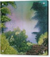 Backwoods Mist Acrylic Print