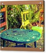 Backyard Summer Acrylic Print