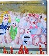 Bad Bears Acrylic Print