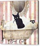 Bad Cat I Acrylic Print