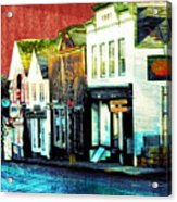 Bad Fish Lane Acrylic Print