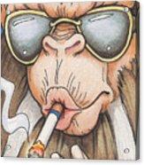 Bad Monkey Acrylic Print