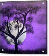 Bad Moon Acrylic Print