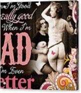 Bad Seven Acrylic Print