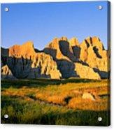 Badlands Buttes, South Dakota Acrylic Print
