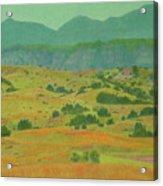 Badlands Grandeur Acrylic Print