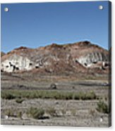 Badlands Acrylic Print by Kenneth Hadlock
