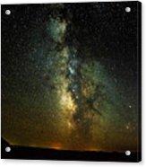 Badlands Milky Way Acrylic Print