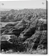Badlands Of South Dakota #2 Acrylic Print