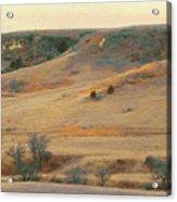 Badlands Prairie Reverie Acrylic Print