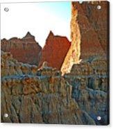 Badlands Sunset Acrylic Print
