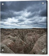 Badlands White River Valley  Acrylic Print