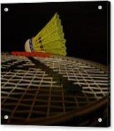Badminton Acrylic Print