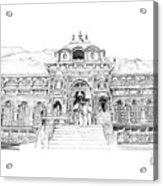 Badrinath Acrylic Print