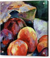 Bag Of Fruit Acrylic Print
