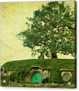 Bagend Homes Acrylic Print by Linde Townsend
