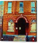 Bagg Street Synagogue Acrylic Print