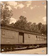 Baggage Car Acrylic Print