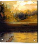Bagley Lake Acrylic Print