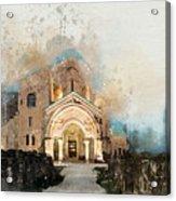Bagrati Cathedral Acrylic Print