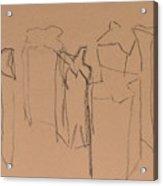 Bags On Bron Paper Acrylic Print