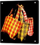 Bags On The Loose Acrylic Print