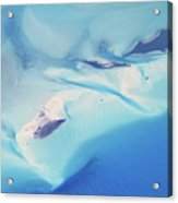 Bahama Banks Aerial Seascape Acrylic Print