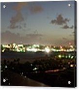 Bahama Night Acrylic Print