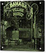Bahama Village Market Key West Florida Acrylic Print