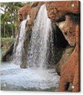 Bahama Waterfall Acrylic Print